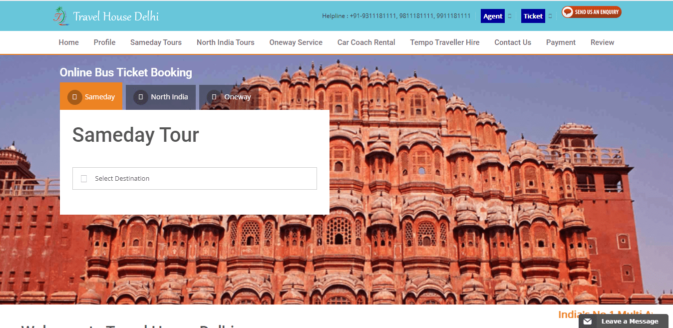 Travel House Delhi
